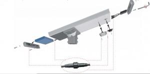 Lampadaire solaire LED avec batterie  - Devis sur Techni-Contact.com - 4