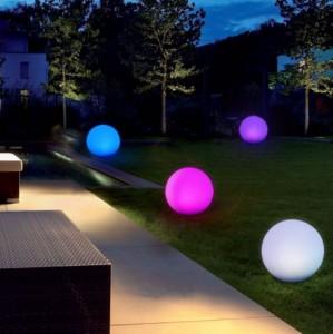 Lampe boule solaire LED lumière brillante - Devis sur Techni-Contact.com - 1