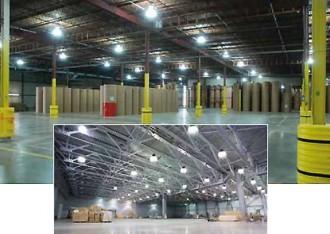 Lampe d'éclairage atelier LED High bay 150 watts - Devis sur Techni-Contact.com - 5