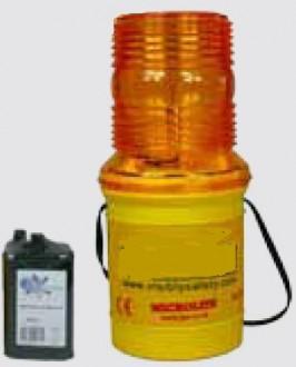 Lampe de chantier microlite clignotante - Devis sur Techni-Contact.com - 1