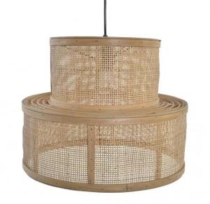 Lampe de plafond en rotin - Devis sur Techni-Contact.com - 1