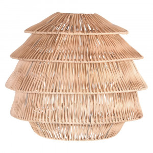 Lampe de plafond en rotin - Devis sur Techni-Contact.com - 11