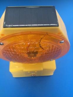 Lampe de signalisation solaire rechargeable - Devis sur Techni-Contact.com - 4
