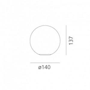 Lampe de Table Dioscuri Ø14cm ARTEMIDE - Devis sur Techni-Contact.com - 4
