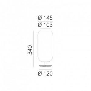 Lampe de Table Gople Mini ARTEMIDE - Devis sur Techni-Contact.com - 3
