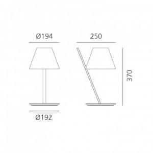 Lampe de Table Le Petite ARTEMIDE - Devis sur Techni-Contact.com - 3