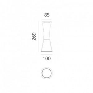 Lampe de Table LED Come Together 3.6W ARTEMIDE - Devis sur Techni-Contact.com - 3