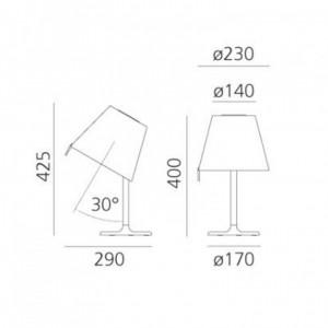 Lampe de Table Melampo Notte ARTEMIDE - Devis sur Techni-Contact.com - 3