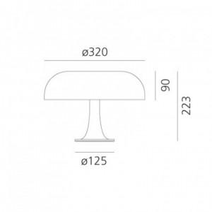Lampe de Table Nessino ARTEMIDE - Devis sur Techni-Contact.com - 2