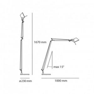 Lampe de Table Tolomeo Lectura ARTEMIDE - Devis sur Techni-Contact.com - 2