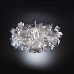 Lampe Suspendue Clizia Fume SLAMP - Devis sur Techni-Contact.com - 2