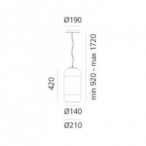 Lampe Suspendue Gople S ARTEMIDE - Devis sur Techni-Contact.com - 3
