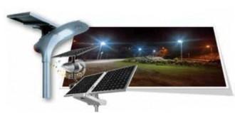 Lanterne solaire public - Devis sur Techni-Contact.com - 1