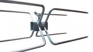 Lardoire inox 4 pics double - Devis sur Techni-Contact.com - 3