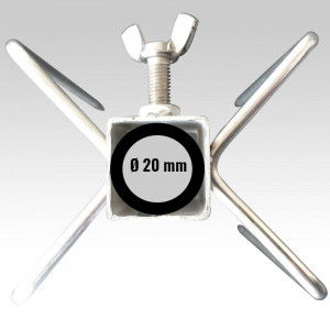 Lardoire inox 4 pics double - Devis sur Techni-Contact.com - 4