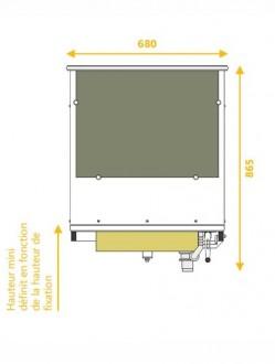 Lavabo Compact PMR - Devis sur Techni-Contact.com - 3