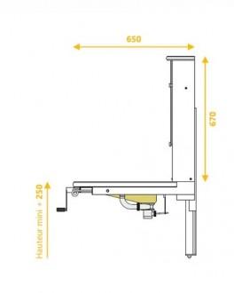 Lavabo Compact PMR - Devis sur Techni-Contact.com - 4