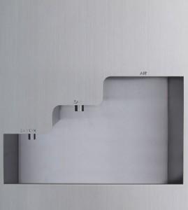 Lave-mains automatique encastré inox - Devis sur Techni-Contact.com - 1