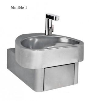 Lave-mains à commande électronique - Devis sur Techni-Contact.com - 1