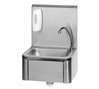 Lave mains à commande fémorale - Devis sur Techni-Contact.com - 1