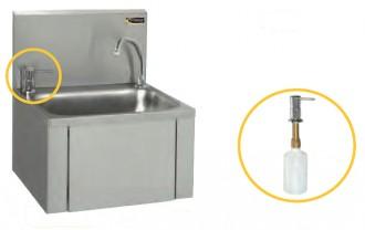 Lave-mains avec distributeur de savon - Devis sur Techni-Contact.com - 1