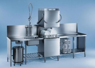 Lave vaisselle professionnel à capot - Devis sur Techni-Contact.com - 1