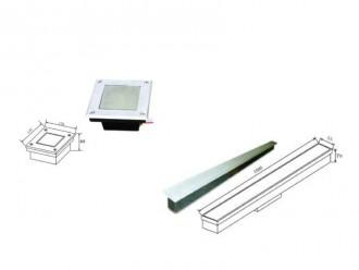 LED spot rectangle encastrable pour extérieur - Devis sur Techni-Contact.com - 2