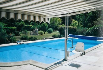 Leve personne piscine à rotation - Devis sur Techni-Contact.com - 1
