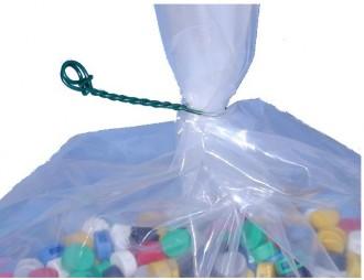 Liens à 2 boucles plastifiés - Devis sur Techni-Contact.com - 3
