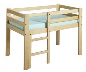 Lit pour enfant surélevé en bois - Devis sur Techni-Contact.com - 1
