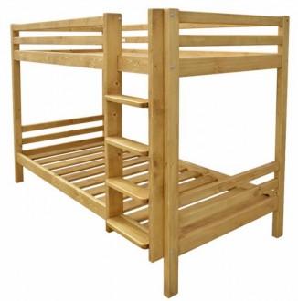 Lit superposé en bois massif - Devis sur Techni-Contact.com - 1