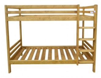 Lit superposé en bois massif - Devis sur Techni-Contact.com - 2