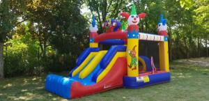Location château gonflable Clown - Devis sur Techni-Contact.com - 2