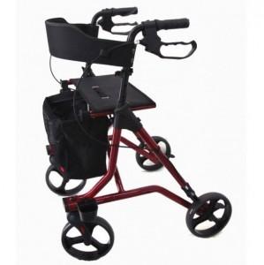 Déambulateur à roues avec sac filet amovible - Devis sur Techni-Contact.com - 1