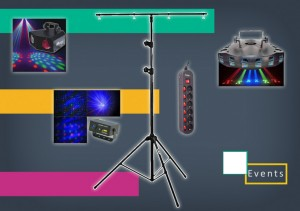 Location pack éclairage soirée  - Devis sur Techni-Contact.com - 1