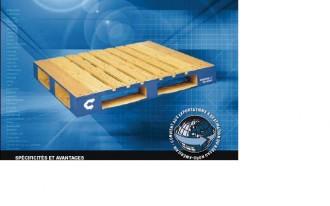 Location palette en bois 1219 x 1016 mm - Devis sur Techni-Contact.com - 1