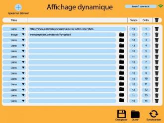 Logiciel d'affichage dynamique - Devis sur Techni-Contact.com - 1