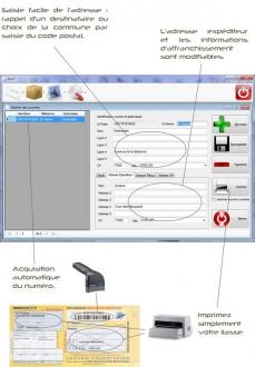Logiciel d'affranchissement courriers - Devis sur Techni-Contact.com - 3