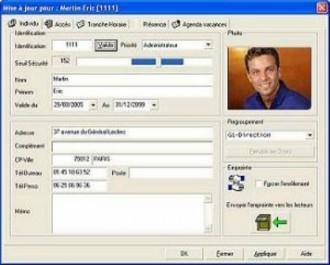 Logiciel de contrôle d'accès BIOMACCESS - Devis sur Techni-Contact.com - 1