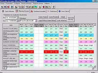 Logiciel de gestion de planning - Devis sur Techni-Contact.com - 3