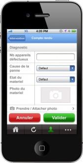 Logiciel de gestion interventions sur iphone - Devis sur Techni-Contact.com - 2