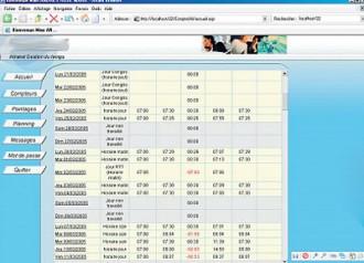 Logiciel gestion de temps - Devis sur Techni-Contact.com - 2