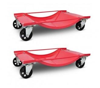 Lot de 2 chariot déplace voiture - Devis sur Techni-Contact.com - 1
