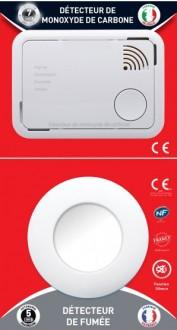 Lot de détecteur de fumée et monoxyde de carbone - Devis sur Techni-Contact.com - 2