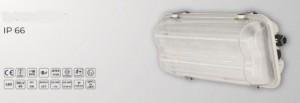 Luminaire LED étanche en plastique polycarbonate - Devis sur Techni-Contact.com - 1