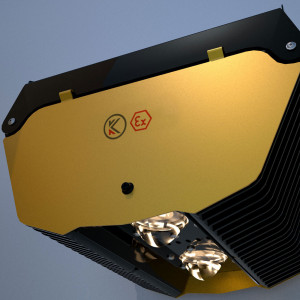 Luminaire pour zones dangereuses (Z2,Z22) avec une puissance de 269 W - Devis sur Techni-Contact.com - 1