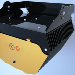 Luminaire pour zones dangereuses (Z2,Z22) avec une puissance de 269 W - Devis sur Techni-Contact.com - 3