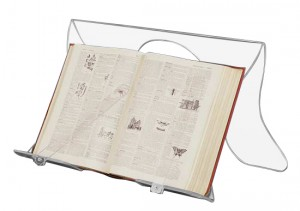 Lutrin de bibliothèque en plexiglas - Devis sur Techni-Contact.com - 1