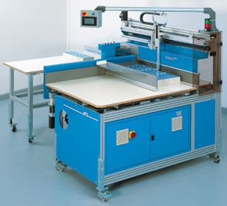 Machine de de mise sous bande de table - Devis sur Techni-Contact.com - 1