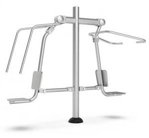 Machine de musculation outdoor Push Pull - Devis sur Techni-Contact.com - 1